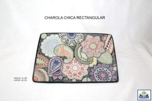CHAROLA CHICA RECTANGULAR15X22