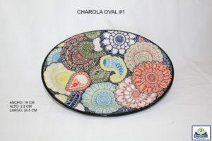 CHAROLA OVAL #1