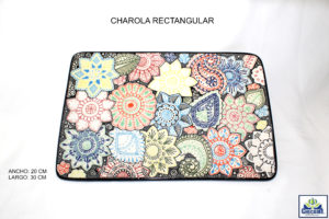 CHAROLA RECTANGULAR20X30
