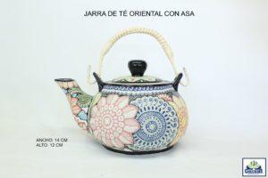 JARRA DE TE ORIENTAL CON ASA