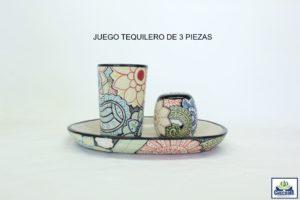 JUEGO TEQUILERO DE 3 PIEZAS