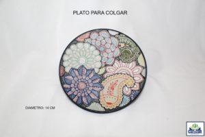 PLATO PARA COLGAR 14CM