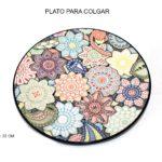 PLATO PARA COLGAR 22CM