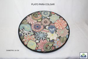 PLATO PARA COLGAR 24 CM