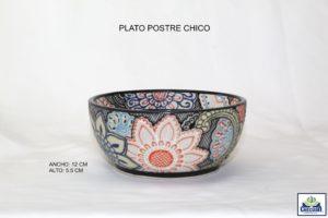 PLATO POSTRE CHICO